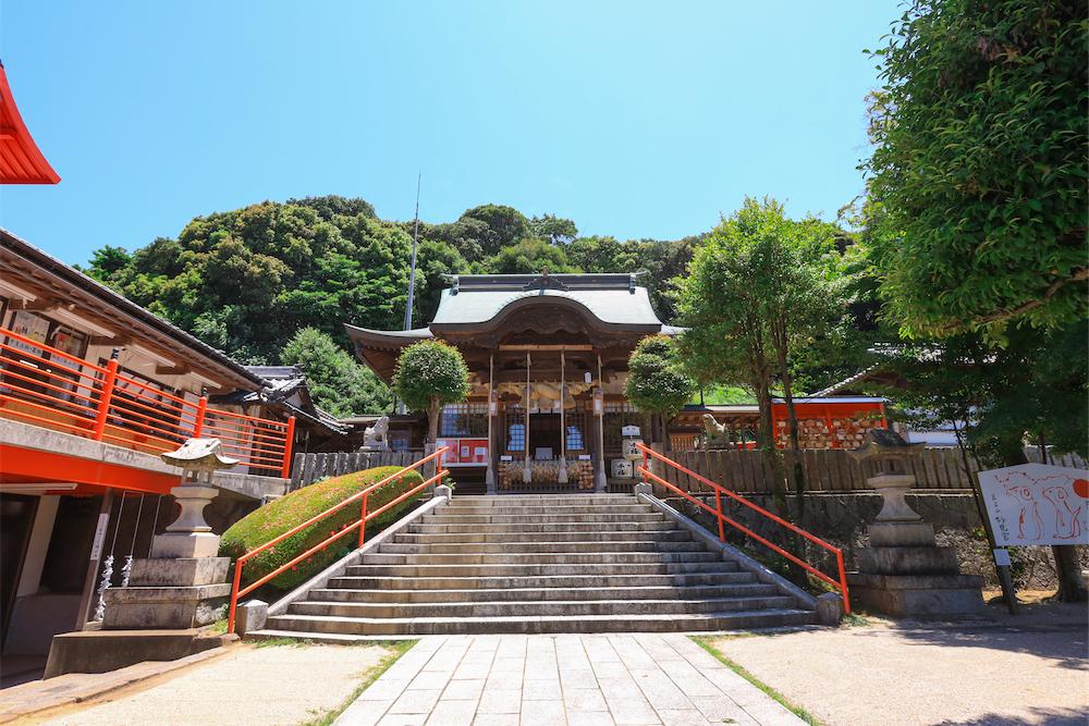 妙見神社<
